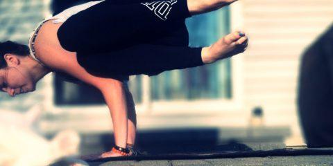 Yoga Side Crow Pose