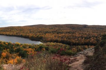 Backpacking Porcupine Mountains - Lake of the clouds