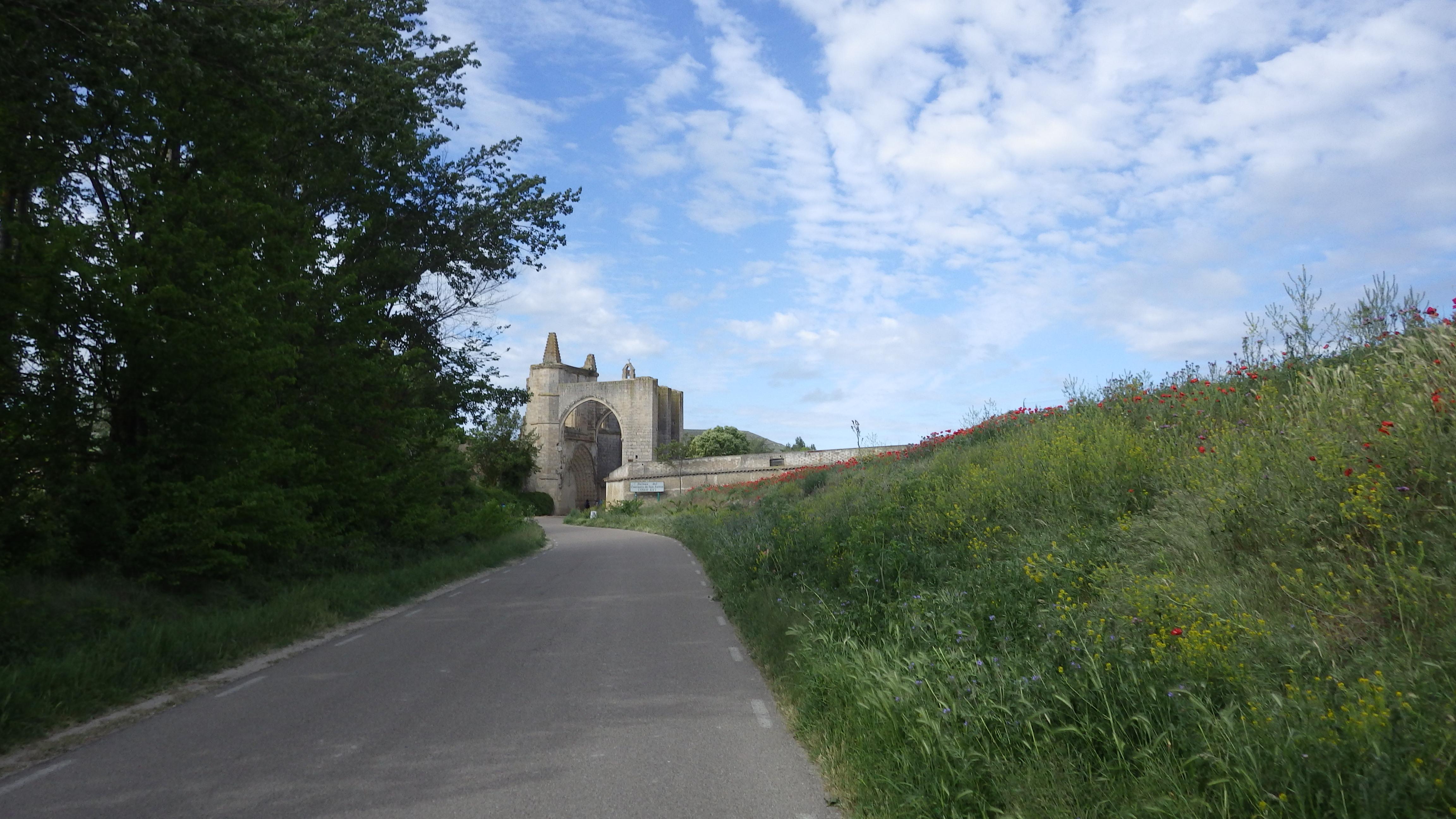 Castrojeriz Ruinas del Monasterio de San Anton