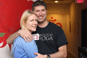 Brian and Kate Granader - Owners of Red Lotus Yoga Studio, Rochester Hills, Michigan