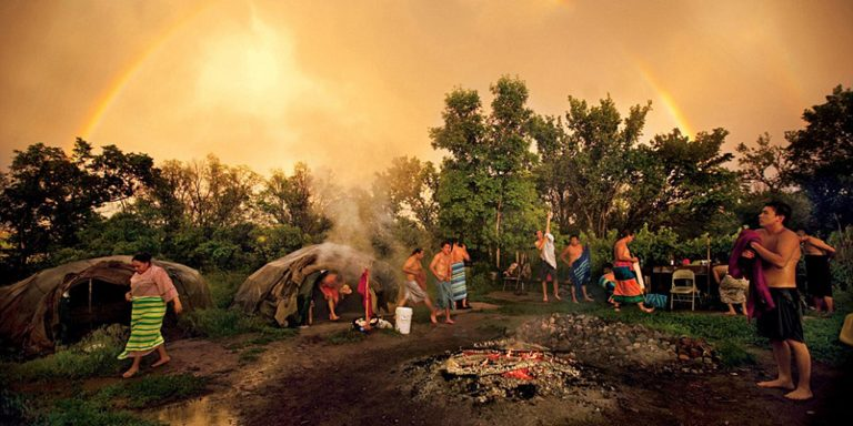 Traditional American Indian Sweat Lodge Ceremony