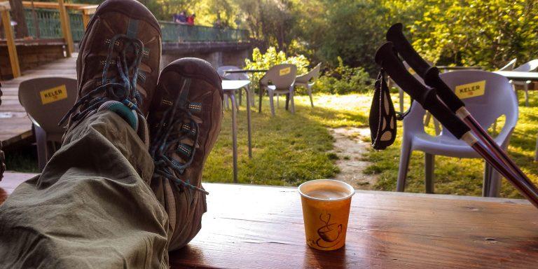 Morning Cafe on the Camino de Santiago
