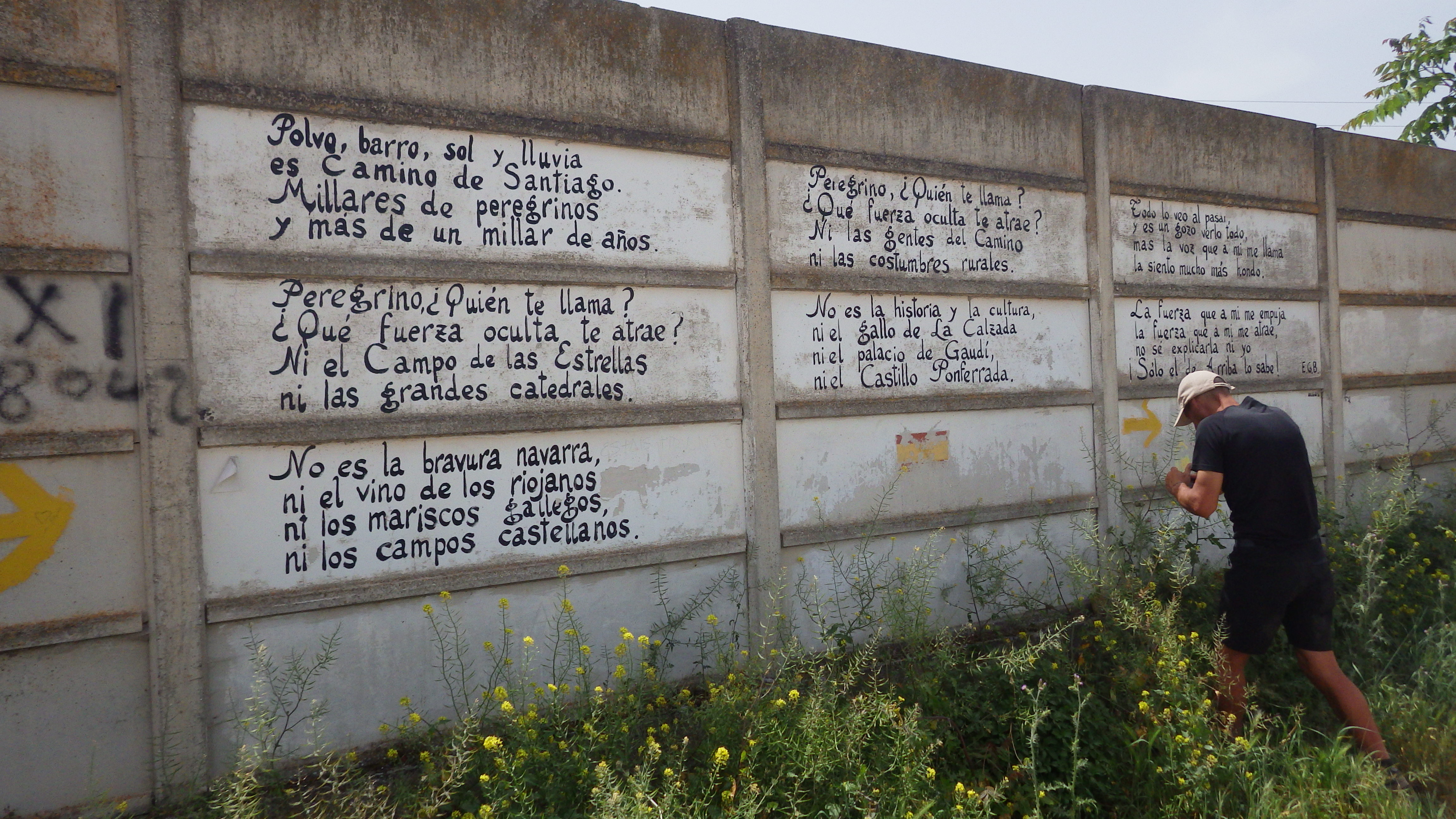 Notes from pilgrims on the Camino