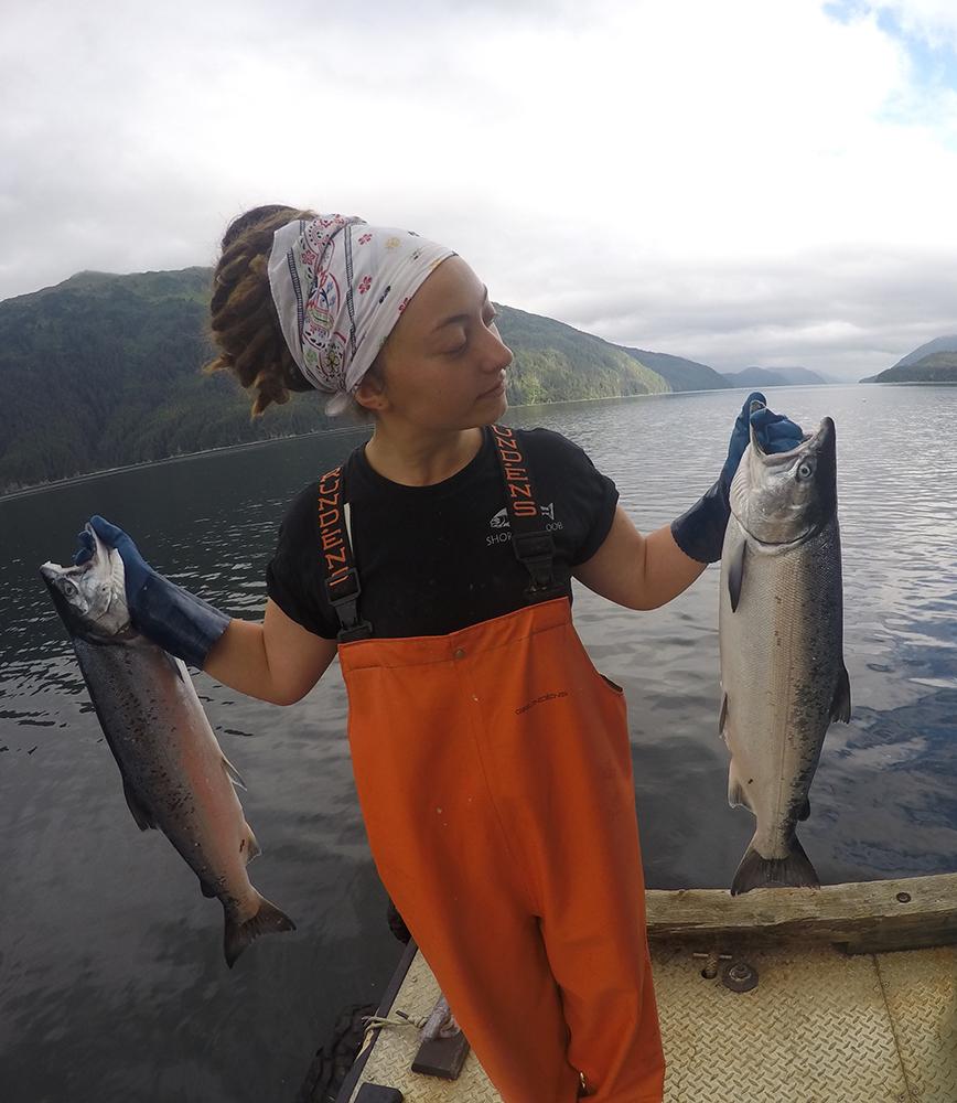 Marie Rose of Shoreline Wild Salmon – Bringing Alaskan Wild Caught Fish to Michigan