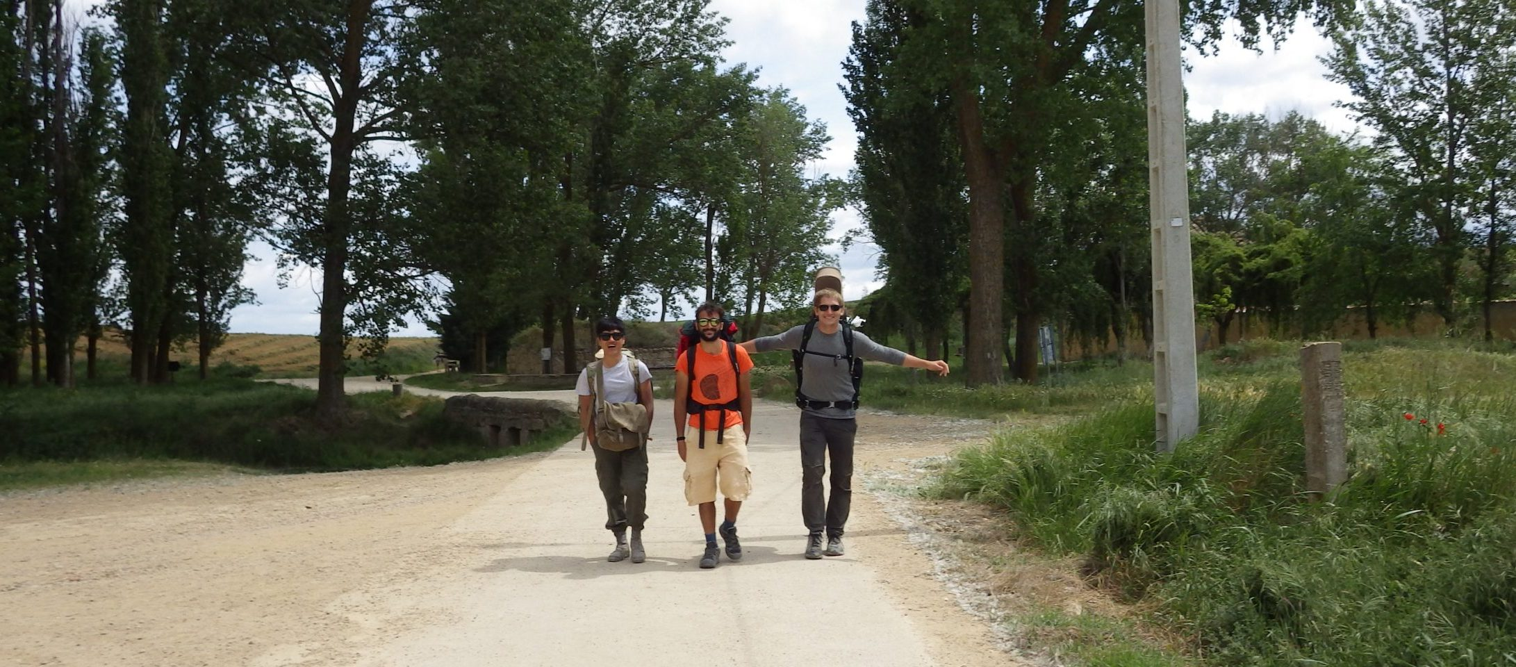 Friends Met on the Camino